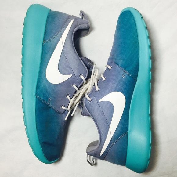 f9a12572ece1 Nike Roshe Aqua Blue