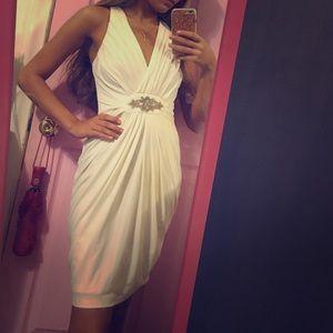 London Times size 2 White Dress