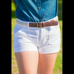 Private Collection Pants - 🚫Also in PLUS🚫Linen Belted Shorts