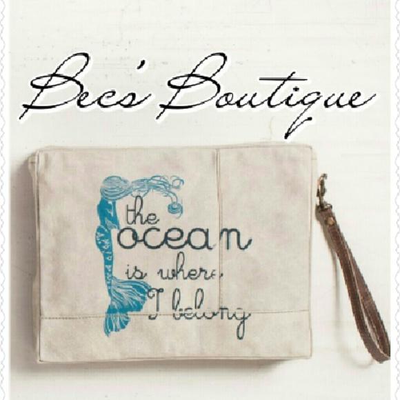 Mona B - LAST ONE! Mona B Ocean Mermaid Wet Bag Beach Bag from ...