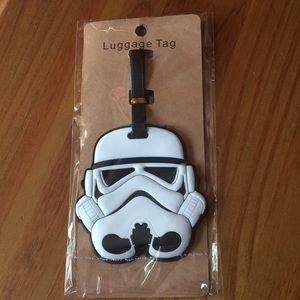 ❗️SALE❗️Star Wars Storm Trooper Luggage Tag