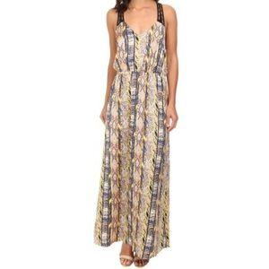 Gabriella Rocha Coda Print Maxi Dress