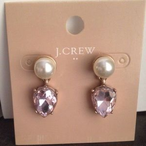 J. Crew Pearl Drop Earrings