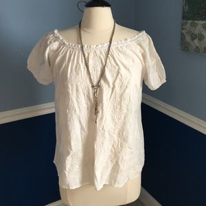 Forever21 blouse short sleeve with tag