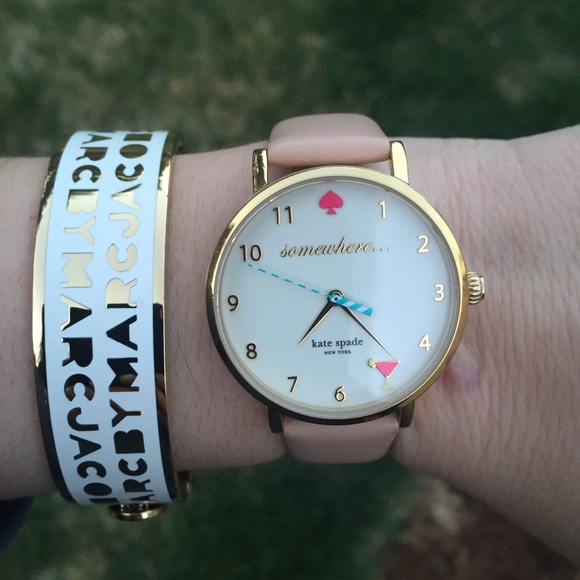 Kate Spade 5 o'clock Somewhere Metro Watch