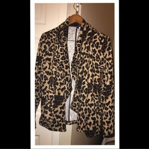 Grace Elements Jackets & Blazers - Woman's leopard blazer