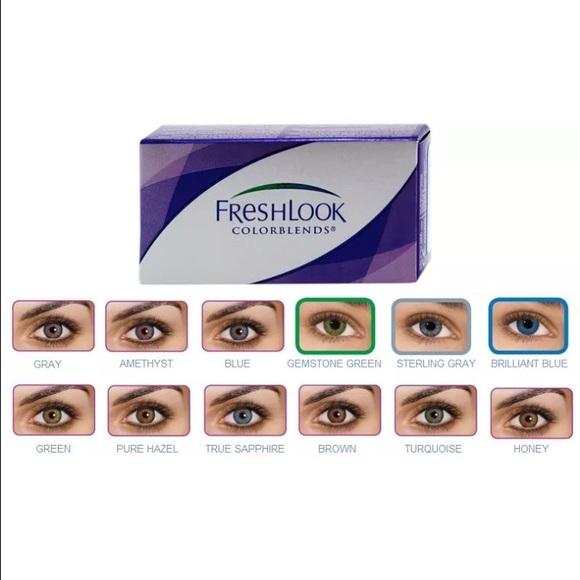 makeup true sapphire color contacts poshmark