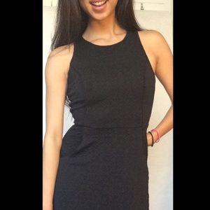 UO Black Criss Cross Back Dress ✨