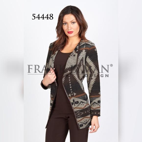 577377feaa9 🔵✅Last One✅ Frank Lyman Woven Jacket
