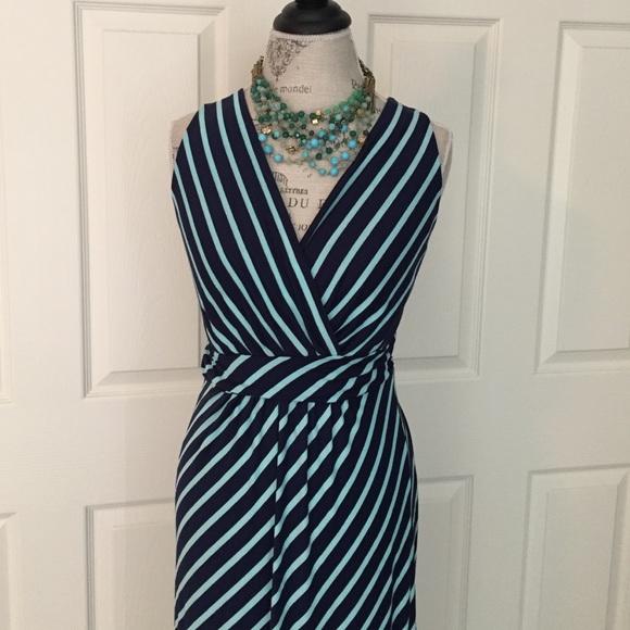 9a6efb8fd7 Stitch Fix Dresses | Gilli Nwt Zuli Striped Maxi Dress | Poshmark