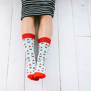 Garden Gnomes socks
