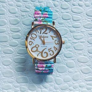 Geneva Accessories - Geneva Floral Watch Hot Buy