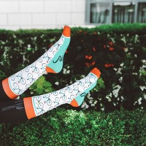 Ride Along socks
