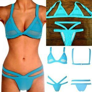 Other - Sexy Thong Bikinis Hollow Out Swimwear