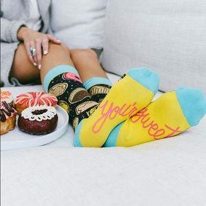 Mmm Donuts socks