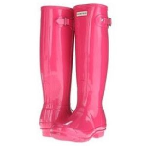 Hunter Other - Pink HUNTER rain boots
