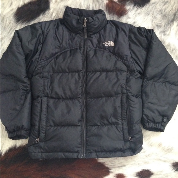85c5c2218 Kids North Face puffer jacket goose down black 600