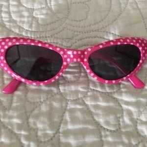 TRADED/New polka dot  girls size sunglasses