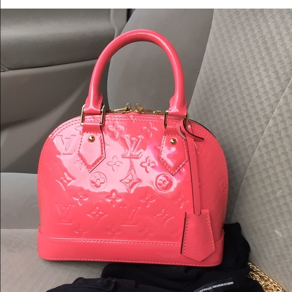 f197a1ee8fc9 Louis Vuitton Handbags - Alma BB Rose Litchi