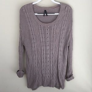 Gentlefawn Slouchy Cable Sweater