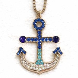 Shop for and buy anchor necklace online at Macy's. Find anchor necklace at Macy's.