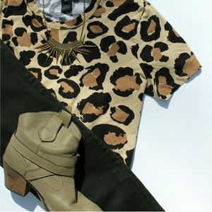 MARC by MARC JACOBS leopard tee