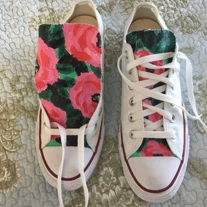 Converse Shoes - Hand painted converse