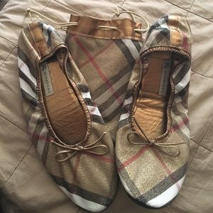burberry shoes ballet style house slippers poshmark