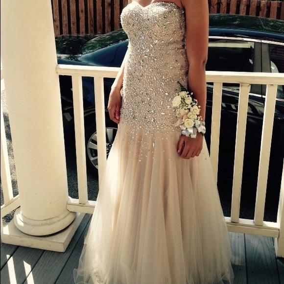 Styled Prom Dress