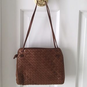Bottega Veneta Handbags - Bottega Veneta Intrecciato Double Compartment Bag