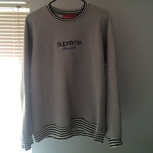 Supreme Ribbed crew neck