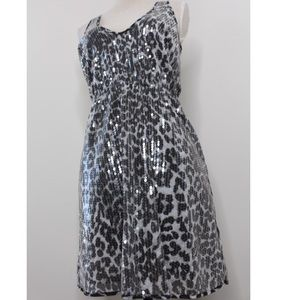Rodarte Sequin Leopard Dress