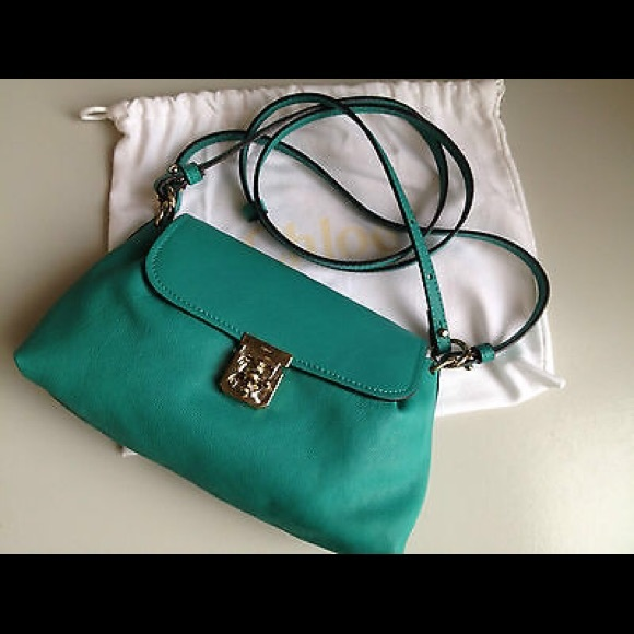 world-wide free shipping nice shoes shades of CHLOE Elsie small shoulder bag NWT