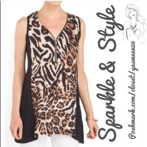 august silk Tops - 🆕✨Leopard print top ✨