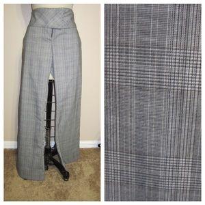 Hot Kiss Pants - Plaid dress pants