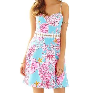 NWT Lilly Pulitzer Lenore Sundress- Lolita-0
