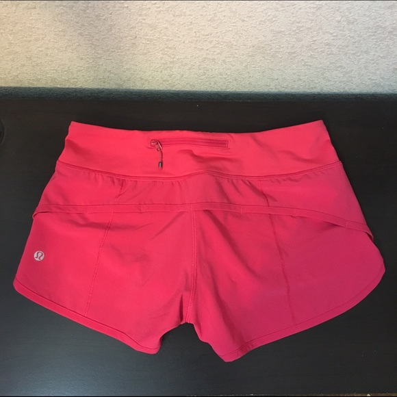 bad95b50c7 lululemon athletica Pants - Lululemon 4 Way Speed Short Hot Pink (Boom  Juice)