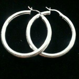 59 Off Jewelry Tweeds Sterling Silver Earrings Made In