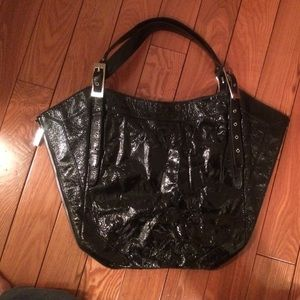 Kooba patent leather bag