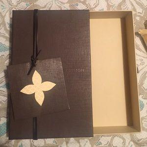 Louis Vuitton Wallet Box