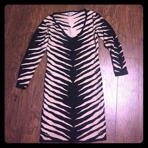 Steilmann Dresses & Skirts - Zebra bodycon mini dress