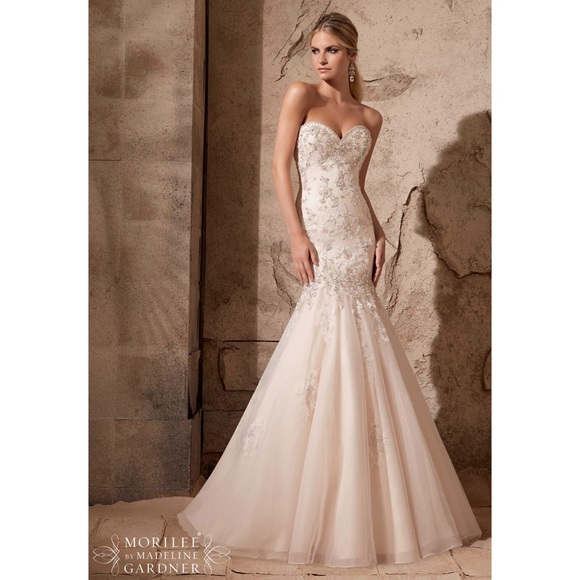 53 off mori lee dresses skirts mori lee wedding gown for Mori lee discontinued wedding dresses