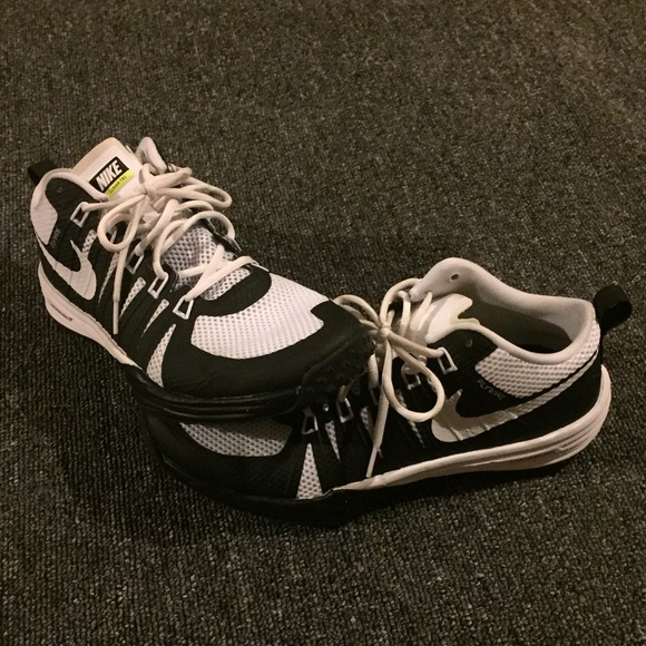 ... nike shoes nike lunar tr1 flywire black white gym shoes