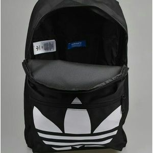 Adidas Bags - Adidas Originals Trefoil Backpack Black  rare  d53bd56f051eb