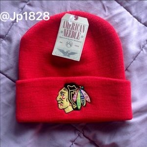 American Needle Accessories - NWT Chicago Blackhawks Beanie
