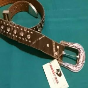 mossy oak Accessories - Camo bling belt