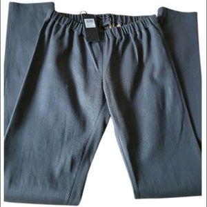 Monika Chiang Pants - Monika Chiang grey leather leggings