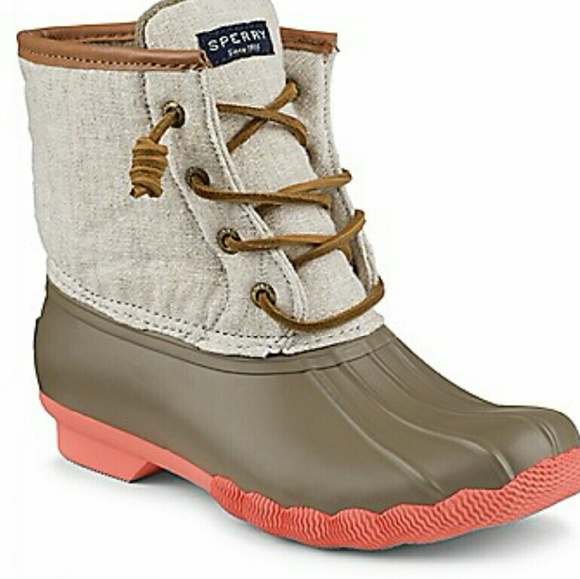 40 Off Sperry Top Sider Shoes Green Sperry Boots From
