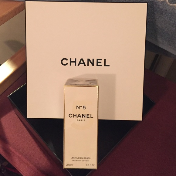 9a97bff8 Chanel body lotion and Chanel box