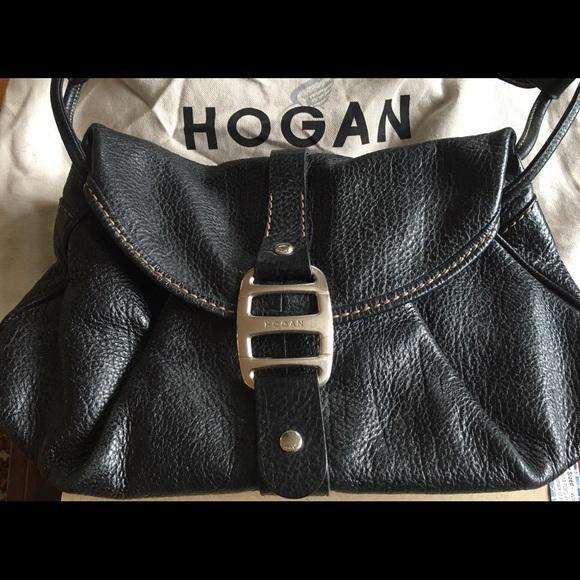 21a39bfa3cb Hogan Bags | By Tods Black Leather Purse | Poshmark